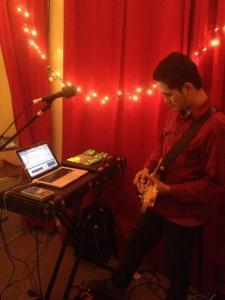 Diwas in WRFI Studio B