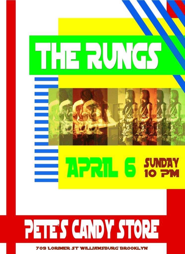 The Rungs @ Pete's Candy Store