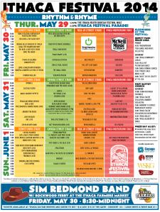 2014 Ithaca Festival Program