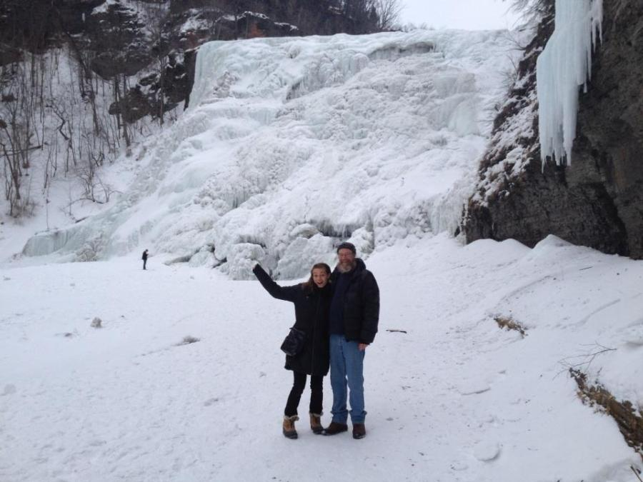 mandy and dad ithaca falls